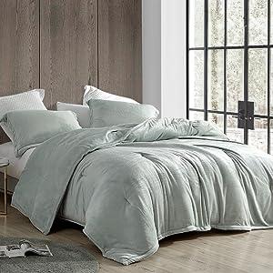 Neutral Gray Cozy Bedding Blanket Twin XL Full Queen King Comforter