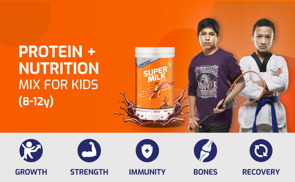 Protein + Nutrition Mix for Kids (8-12y)