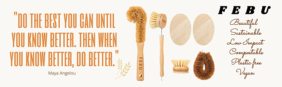 sponges for dishes potato brush dish scrubber brush brush with bamboo zero waste products loofah