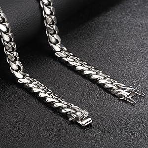Miami Curb Cuban Chain Necklace