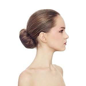 Beaute Galleria Beige Blonde Magic Hair Bun Maker Foam Sponge Bun Twist Shaper