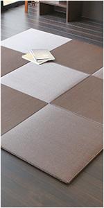 置き畳 琉球畳 畳マット ユニット畳 縁なし 洗える畳 樹脂製 スカッチ タフ
