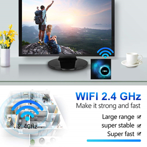 high speed wifi tv box