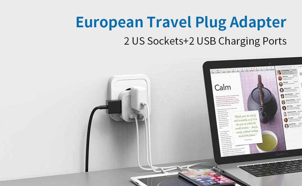 europe travel adapter