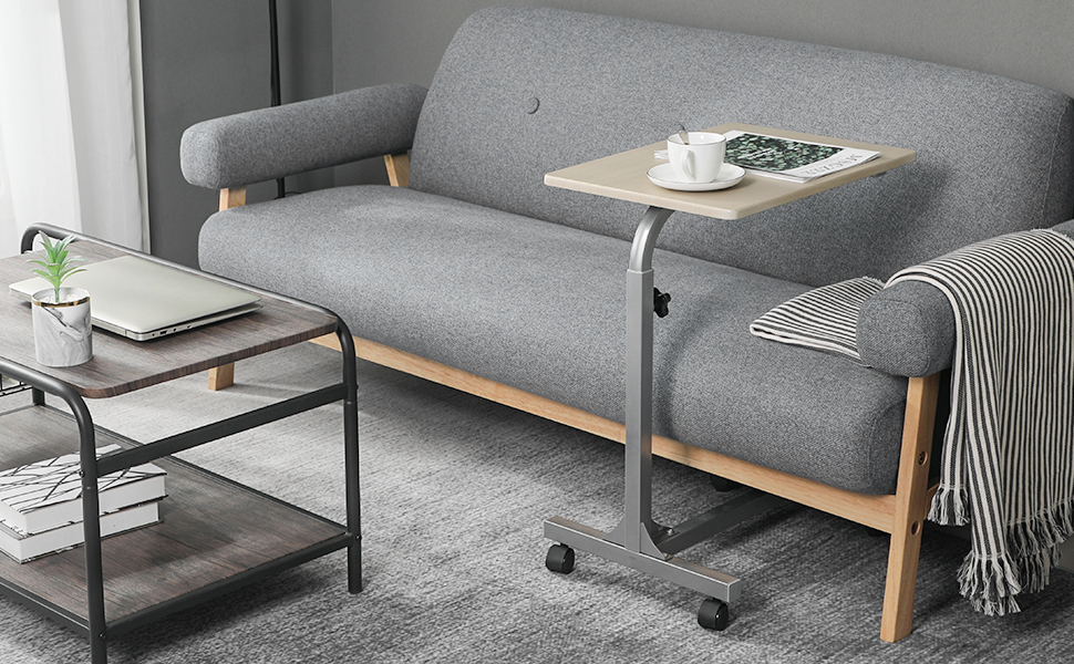 Amazon Com Over Bed Table C Sofa Side Medical Table With