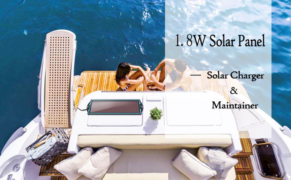solar car battery maintainer
