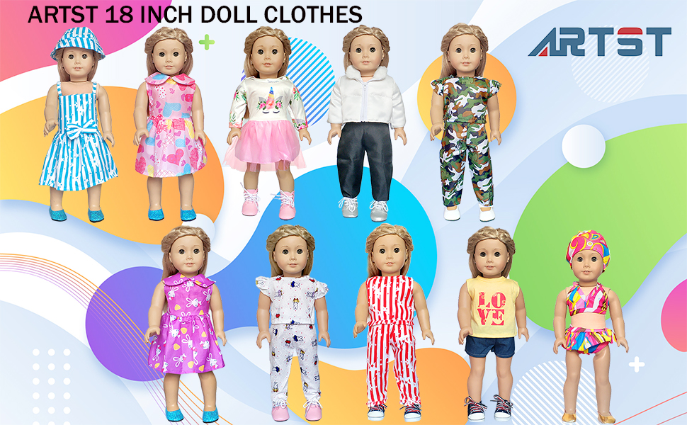 18 inch baby doll clothes