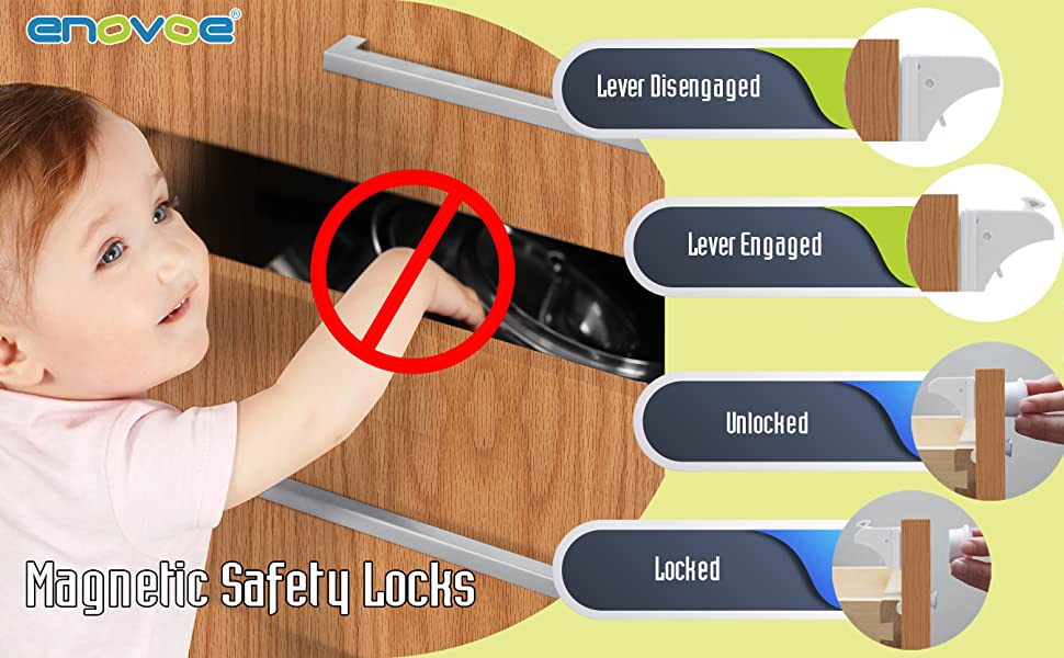 Magnetic Safety Locks