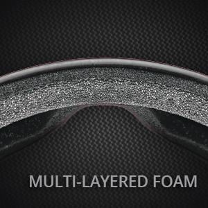 Kroop's 13-Five Goggles Multilayered Foam