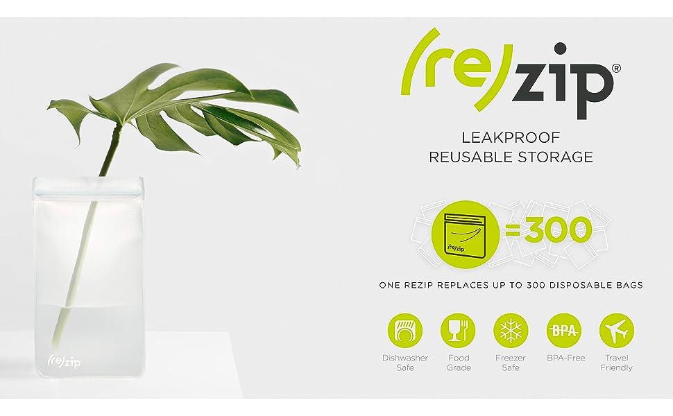 rezip reusable storage bags