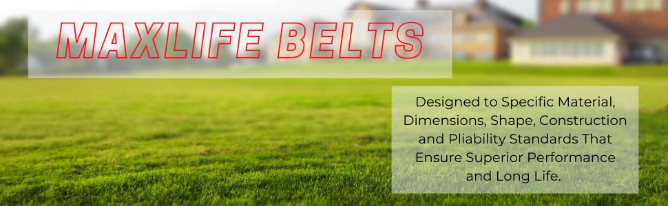 MaxLife Belts