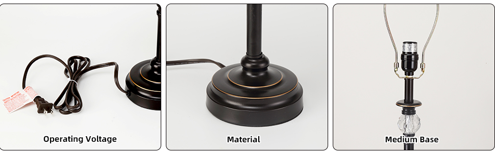 sturdy metal lamp for living room