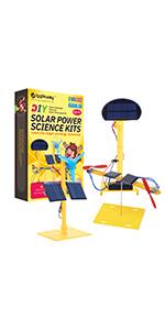 solar power science kits