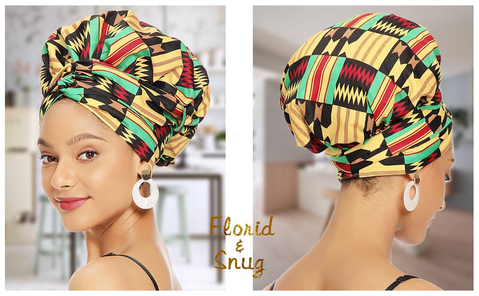 satin bonnet for women