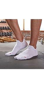 rgear drymax double tab no show socks