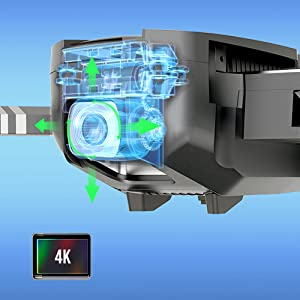 2K Camera with Shock Absorption