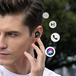earbuds with touch control
