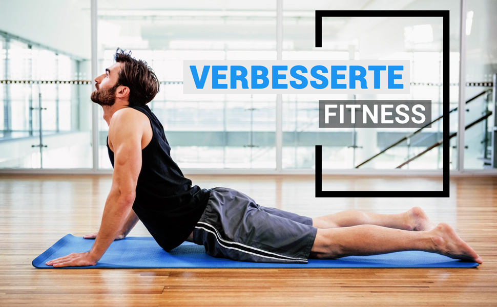 Gymnastikmatte Yogamatte Trainingsmatte Sportmatte Pilates Rutschfeste dick