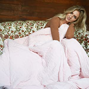 Blush Pink Weighted Blanket