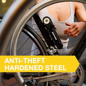 SIGTUNA Folding Bike Lock urban bike theft