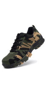 Ticcoon Steel Toe Shoes