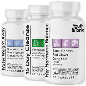 water pills colon cleanse woman support