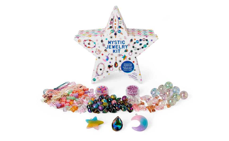 Mystic jewelry kit v2 beads colors diy kid arts and crafts