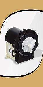 washer drum water pump