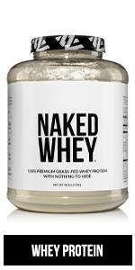whey protein powder, naked whey