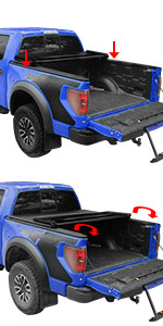Tonneau Cover for Toyota Tundra Crewmax Cab