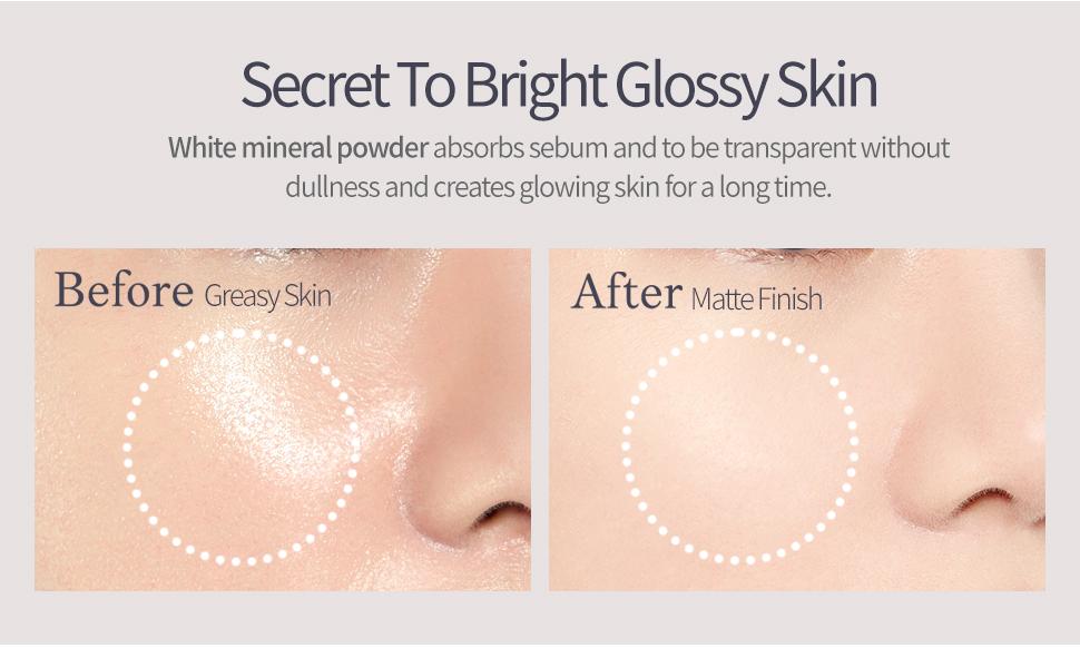 Secret To Bright Glossy Skin