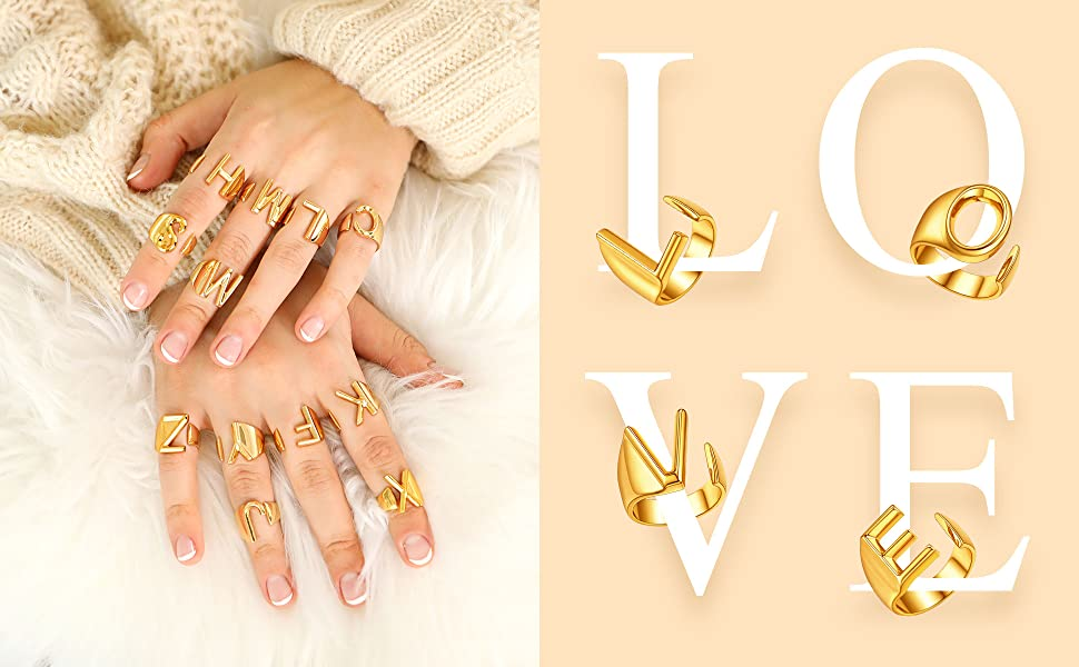 gold statement ring