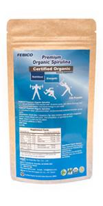 organic superfoods spirulina powder
