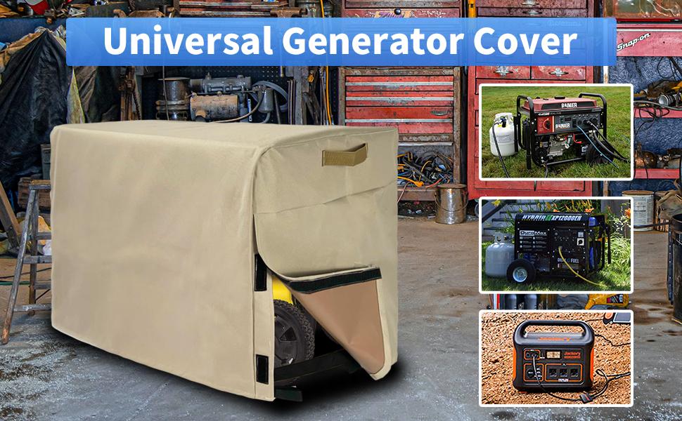 ZARUP Generator Cover Waterproof 26x20.1x20.1in Heavy Duty Thicken ...