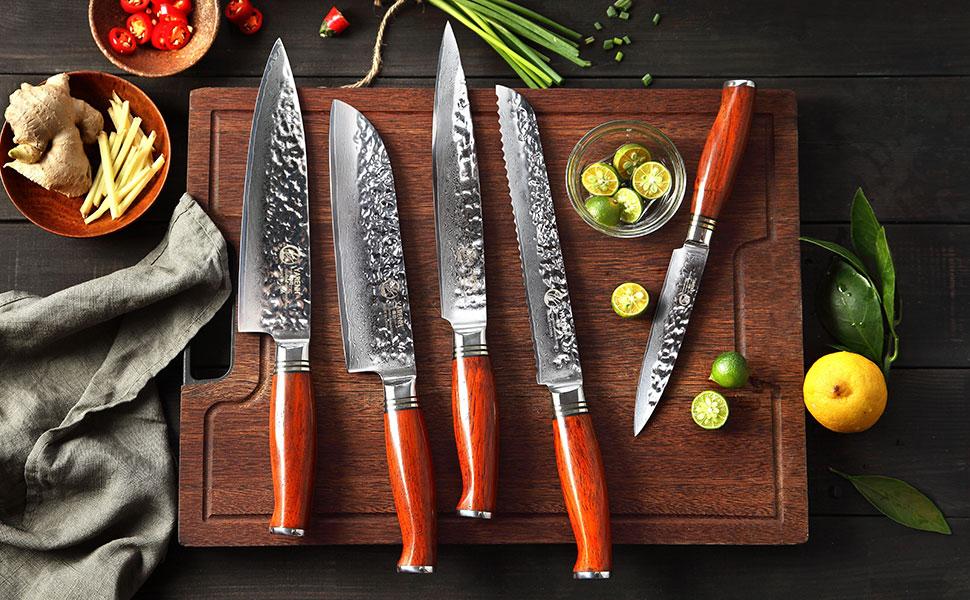 set de couteau de cuisine