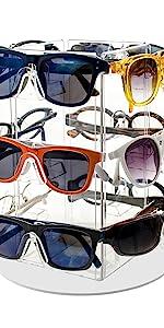 Marketing Holders Rotating Eyewear Counter Display Stand