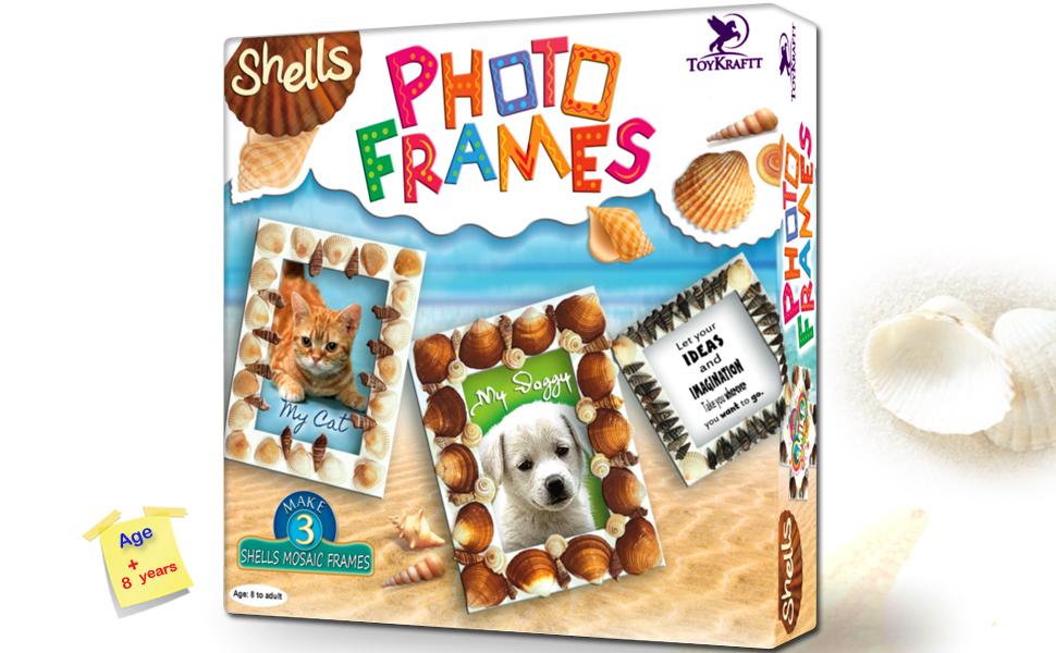 39541 - Shell Photo frames