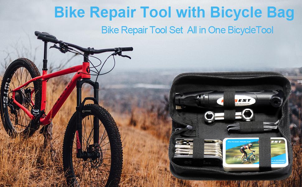 bike repair toolkit