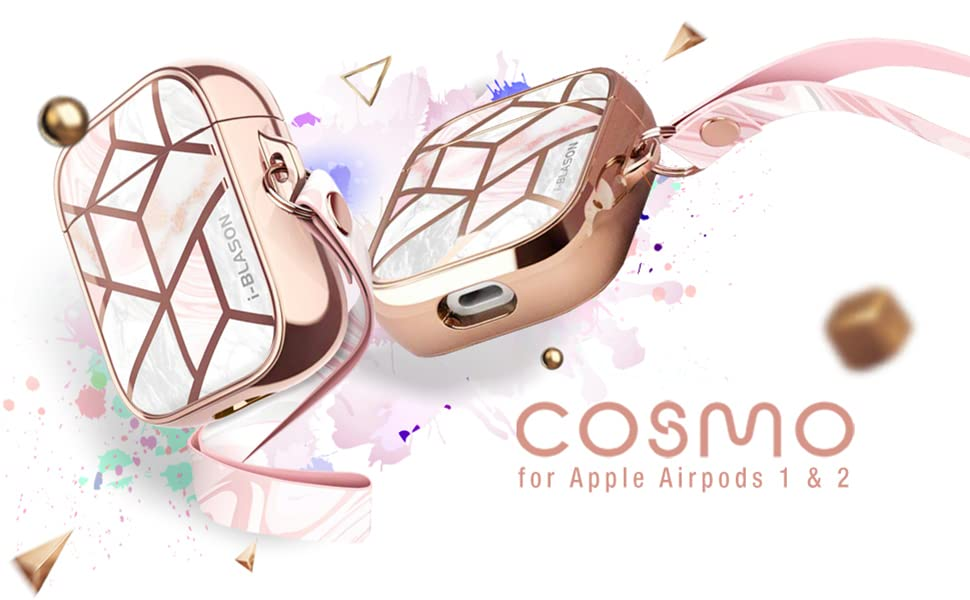 i-Blason Cosmo Series Case Designed for Airpods 1st/2nd Gen