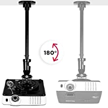 Duronic PB02XL Soporte para Proyector de Techo y Pared: Amazon.es ...