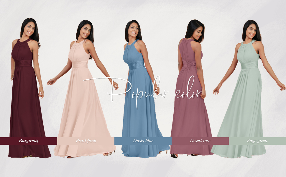 bridesmaid dress for women
