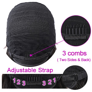 Wig Cap Fit Most of Head Size