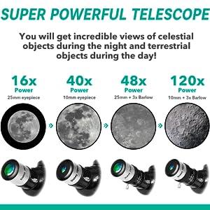 children telescope
