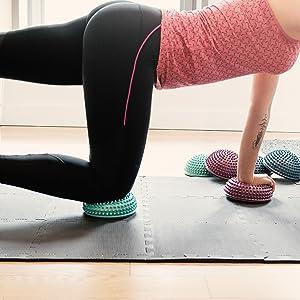 boule massage herisson picot relaxation muscle douleur yoga sport fitness