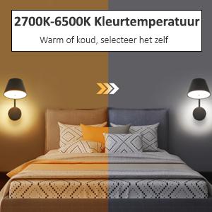 kleurtemperatuur flinq smart lampen
