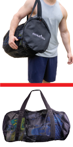 Athletico Mesh Duffel Bag