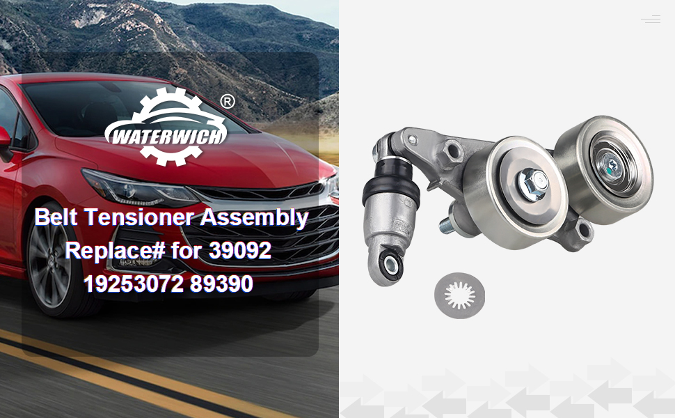 Belt Tensioner Assembly Replace# for 39092 19253072 89390