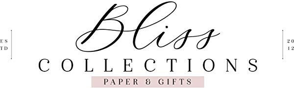 Bliss Collections Paper Boutique high quality  gifts