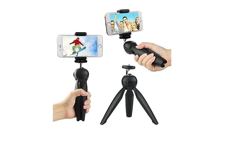 mini tripod stand universal mobile phone holder mount clip dslr camera photography