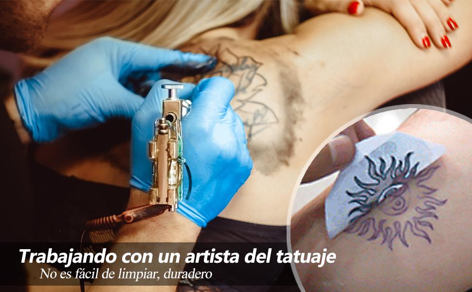 cococity Papel Hectografico Tattoo Suministro de tatuaje 30 piezas Reusable Tattoo Transfer Paper (tatuajes temporales): Amazon.es: Oficina y papelería
